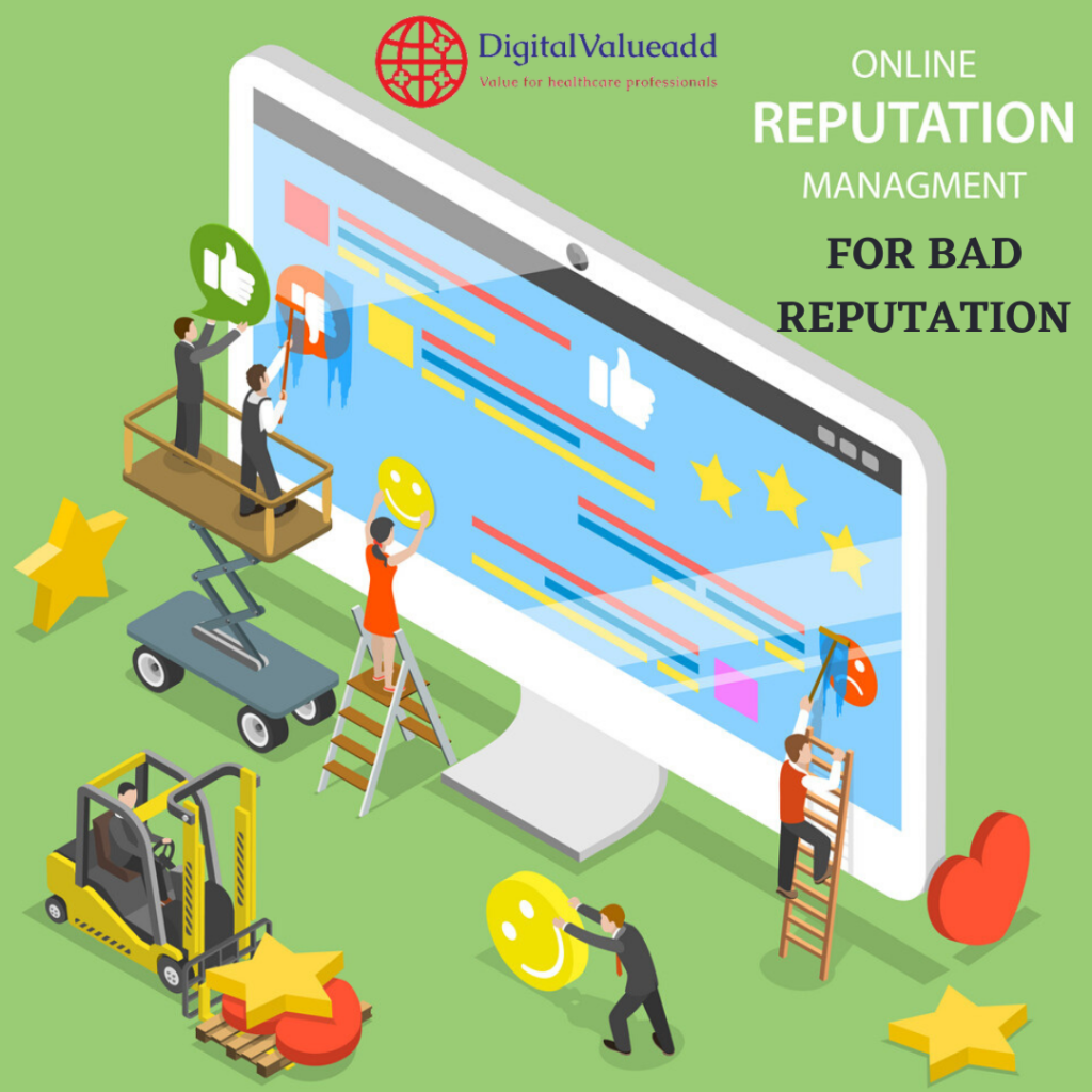 Online Reputation Management for Doctors - Digital valueadd